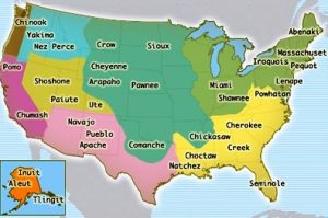 Cheyenne Indians Map