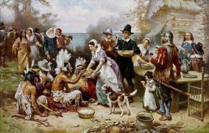 Wampanoag Indians Thanksgiving